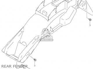 Suzuki GSF600S BANDIT 2003 (K3) USA (E03) parts lists and
