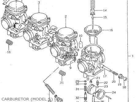 Suzuki GSF600U 1995 (S) GERMANY (E22) parts lists and