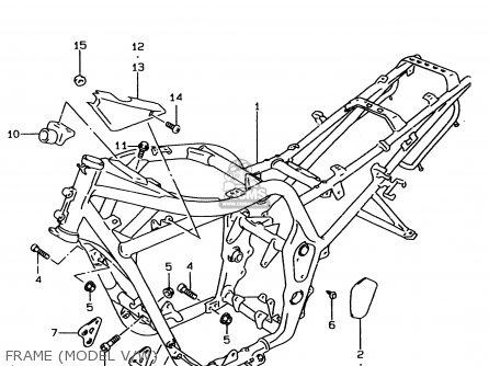 Suzuki GSF600U 1999 (X) GERMANY (E22) parts lists and