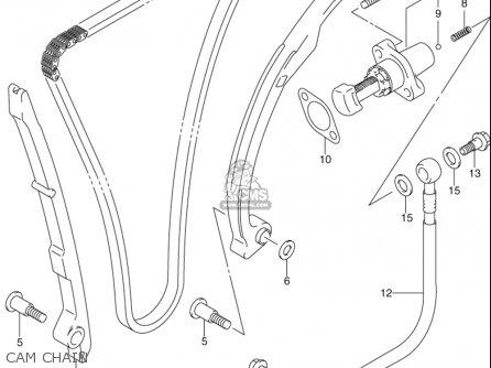 Suzuki Gsx-r1000 2001-2002 (usa) parts list partsmanual