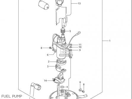 Suzuki Gsx-r1000 2005-2006 (usa) parts list partsmanual