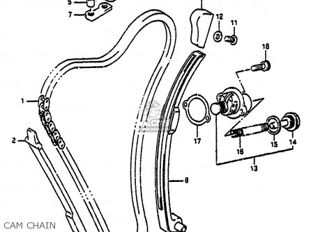 Suzuki Gsx-r1100 1992 (n) parts list partsmanual partsfiche