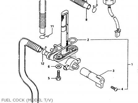 Suzuki Gsx-r1100 1996 (wt) parts list partsmanual partsfiche
