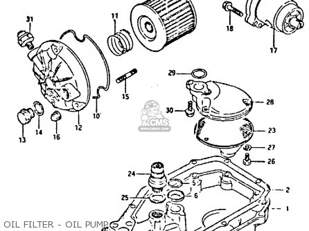 Suzuki Gsx-r400 1987 (h) parts list partsmanual partsfiche