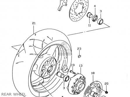 1997 Suzuki Gsxr 600 Parts Diagram. Suzuki. Auto Wiring