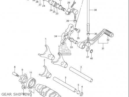 Suzuki Gsx-r600 (usa) parts list partsmanual partsfiche