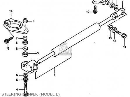 Suzuki Gsx-r750 1988 (j) parts list partsmanual partsfiche