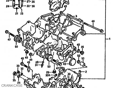 Suzuki Gsx-r750 1993 (wp) parts list partsmanual partsfiche