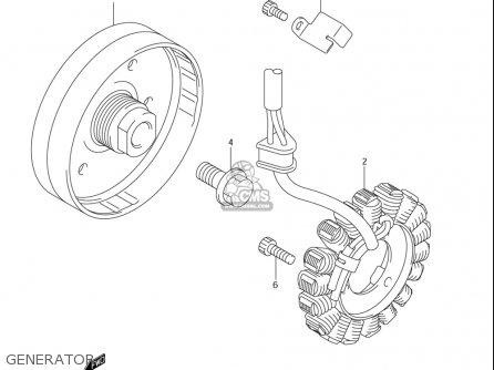 Suzuki Gsx-r750 (usa) parts list partsmanual partsfiche