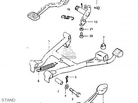 Suzuki Gsx1000 1982 (sz) parts list partsmanual partsfiche