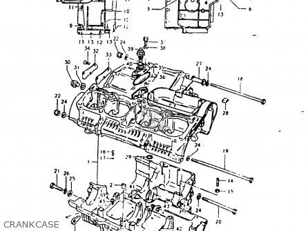 Suzuki Gsx1000s 1982 (z) General Export (e01) parts list