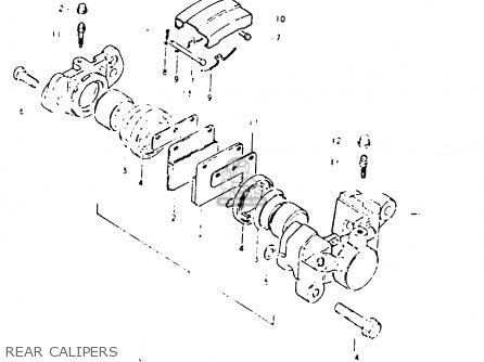 Suzuki GSX1100 1981 (X) GENERAL EXPORT (E01) parts lists