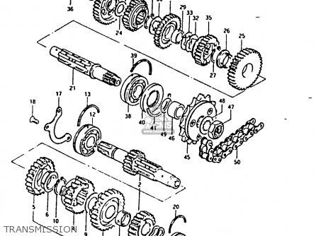 Suzuki Gsx1100 1983 (esd) parts list partsmanual partsfiche