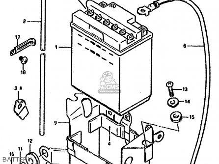 Suzuki Gsx1100 1990 (fl) parts list partsmanual partsfiche