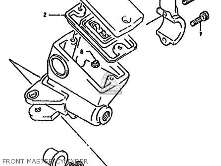 Suzuki Gsx1100 1991 (gm) parts list partsmanual partsfiche
