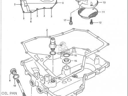 Suzuki Gsx1100 G 1991-1993 (usa) parts list partsmanual