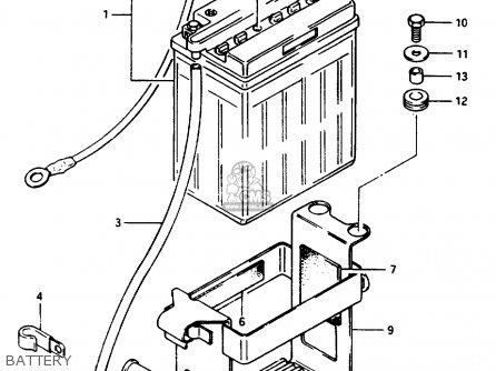 Suzuki Gsx1100e 1984 (e) (e01 E04 E06 E21 E24) parts list