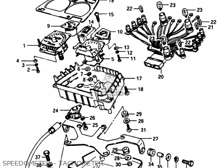 Suzuki Gsx1100e 1984 (e) (e01 E04 E06 E21 E24) parts list