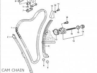 Suzuki GSX1100F 1988 (J) USA (E03) parts lists and schematics