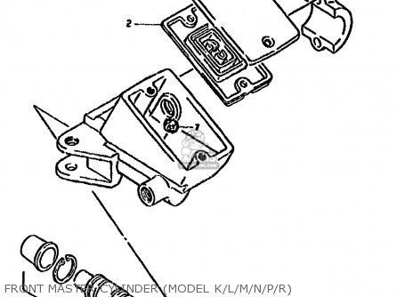 Suzuki GSX1100F 1990 (L) (E01 E02 E04 15 16 17 18 21 22 24