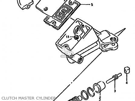 Suzuki Gsx1100f 1993 (p) Zwitzerland (e18) parts list
