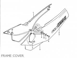 Suzuki GSX1100G 1992 (N) USA (E03) parts lists and schematics