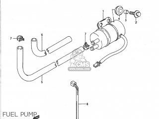 Suzuki GSX1100G 1993 (P) USA (E03) parts lists and schematics