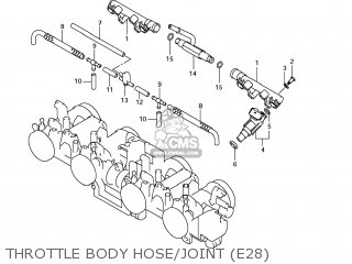 Suzuki Gsx1250fa 2011 (l1) Usa (e03) parts list