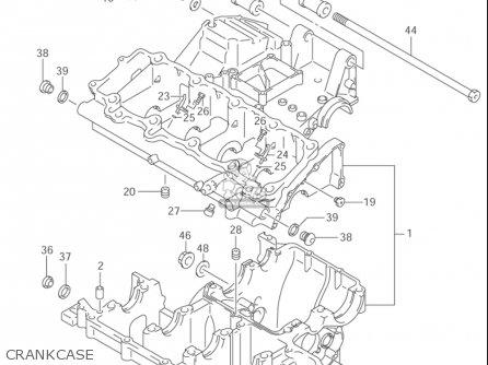 Suzuki Gsx1300 R,z Hayabusa 1999-2003 (usa) parts list