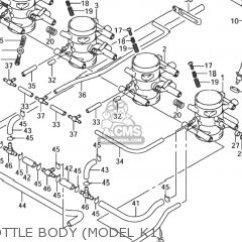 1999 Suzuki Hayabusa Wiring Diagram Pioneer Deh P6800mp Gsx1300r X Usa E03 Parts Lists And Schematics Throttle Body Model K1