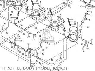 1999 suzuki hayabusa wiring diagram 7 pin plug trailer gsx1300r x usa e03 parts lists and schematics throttle body model k2 k3