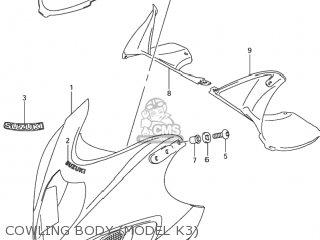 Suzuki GSX1300R HAYABUSA 2000 (Y) USA (E03) parts lists