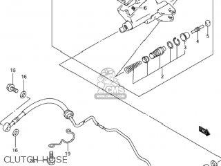 Suzuki GSX1300R HAYABUSA 2001 (K1) USA (E03) parts lists