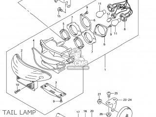 Suzuki Gsx1300r Hayabusa 2004 (k4) Usa (e03) parts list