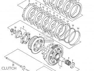 Suzuki GSX1300R HAYABUSA 2005 (K5) USA (E03) parts lists