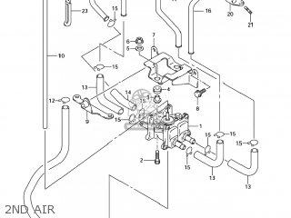 Suzuki GSX1300R HAYABUSA 2007 (K7) USA (E03) parts lists