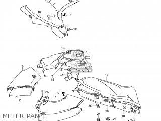 Suzuki GSX1300R HAYABUSA 2008 (K8) USA (E03) parts lists