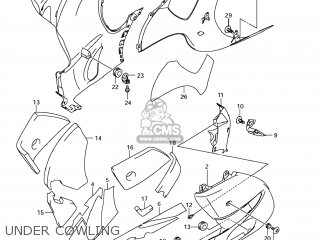 Suzuki GSX1300R HAYABUSA 2011 (L1) USA (E03) parts lists