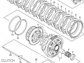 Suzuki GSX1300RA HAYABUSA 2014 (L4) USA (E03) parts lists