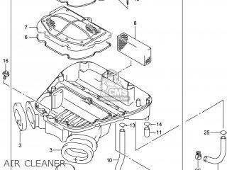 Suzuki Gsx1300raz Hayabusa 2014 (l4) Usa (e03) parts list