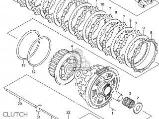Suzuki GSX1300RAZ HAYABUSA 2014 (L4) USA (E03) parts lists