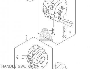 Suzuki Gsx1300raz Hayabusa 2014 (l4) Usa (e03) parts list partsmanual partsfiche
