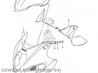 Suzuki GSX1300RZ HAYABUSA 2006 (K6) USA (E03) parts lists