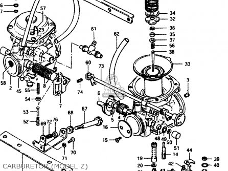 Suzuki Gsx250 1982 (sz) parts list partsmanual partsfiche