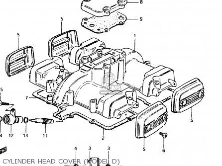 Suzuki GSX250 1983 (D) GENERAL EXPORT (E01) parts lists