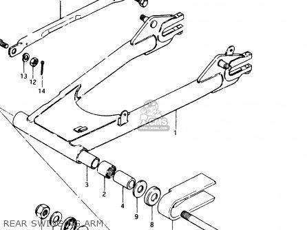 Suzuki GSX250E 1983 (D) GENERAL EXPORT (E01) parts lists