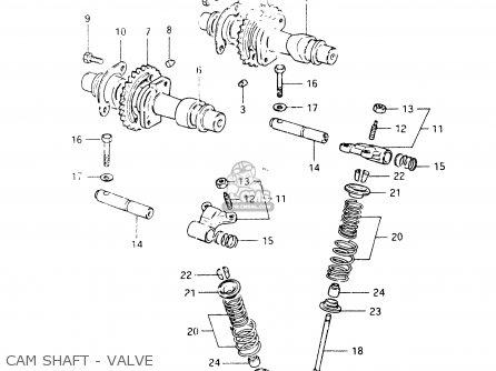 Suzuki Gsx400 1984 (ee) parts list partsmanual partsfiche