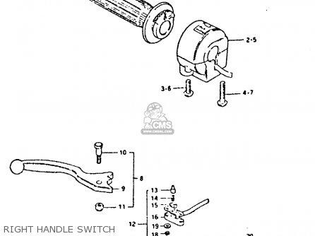 Suzuki Gsx400e 1981 (x) (e02 E04 E16 E22 E24 E26) parts