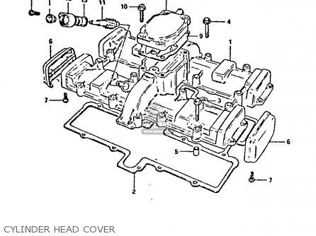 Suzuki Gsx400fe 1981 (x) (e01 02 04 06 15 16 17 18 21 22