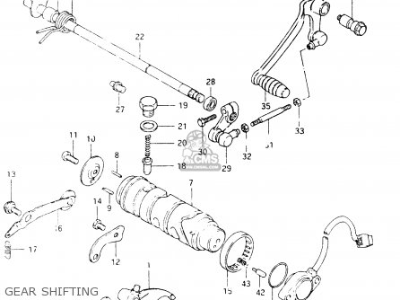 Suzuki GSX400S 1986 (G) GENERAL EXPORT (E01) parts lists